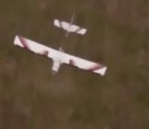Drone capturing field data